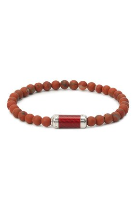 Мужской браслет TATEOSSIAN красного цвета, арт. BR1221 | Фото 1