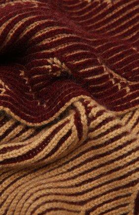 Мужской кашемировый шарф LORO PIANA бордового цвета, арт. FAL4452 | Фото 2