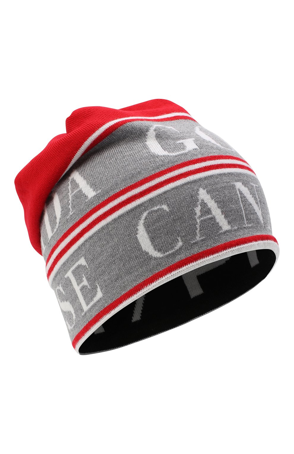 Мужская шерстяная шапка Y/PROJECT красного цвета, арт. YPCGHAT1 Y17   Фото 1