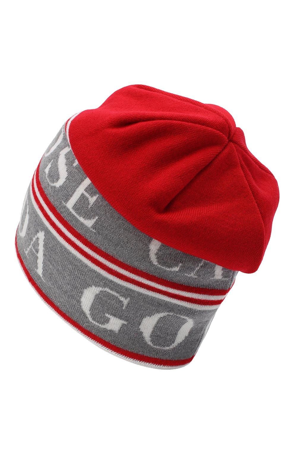 Мужская шерстяная шапка Y/PROJECT красного цвета, арт. YPCGHAT1 Y17   Фото 2
