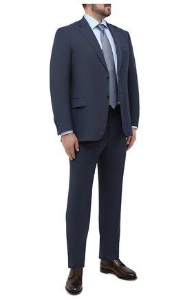 Мужская хлопковая сорочка ETON голубого цвета, арт. 1000 01387 | Фото 2