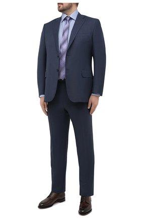 Мужская хлопковая сорочка ETON голубого цвета, арт. 1000 01365 | Фото 2