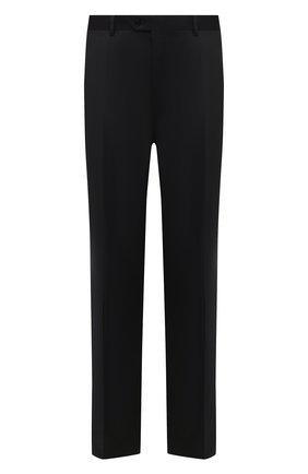 Мужской шерстяные брюки BRIONI черного цвета, арт. RPL23X/PZA0P/M0ENA | Фото 1