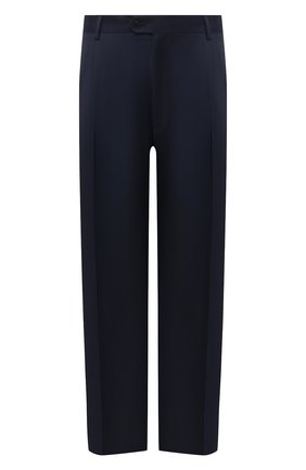 Мужской брюки из шерсти и кашемира BRIONI темно-синего цвета, арт. RPL20P/03A01/M0ENA | Фото 1