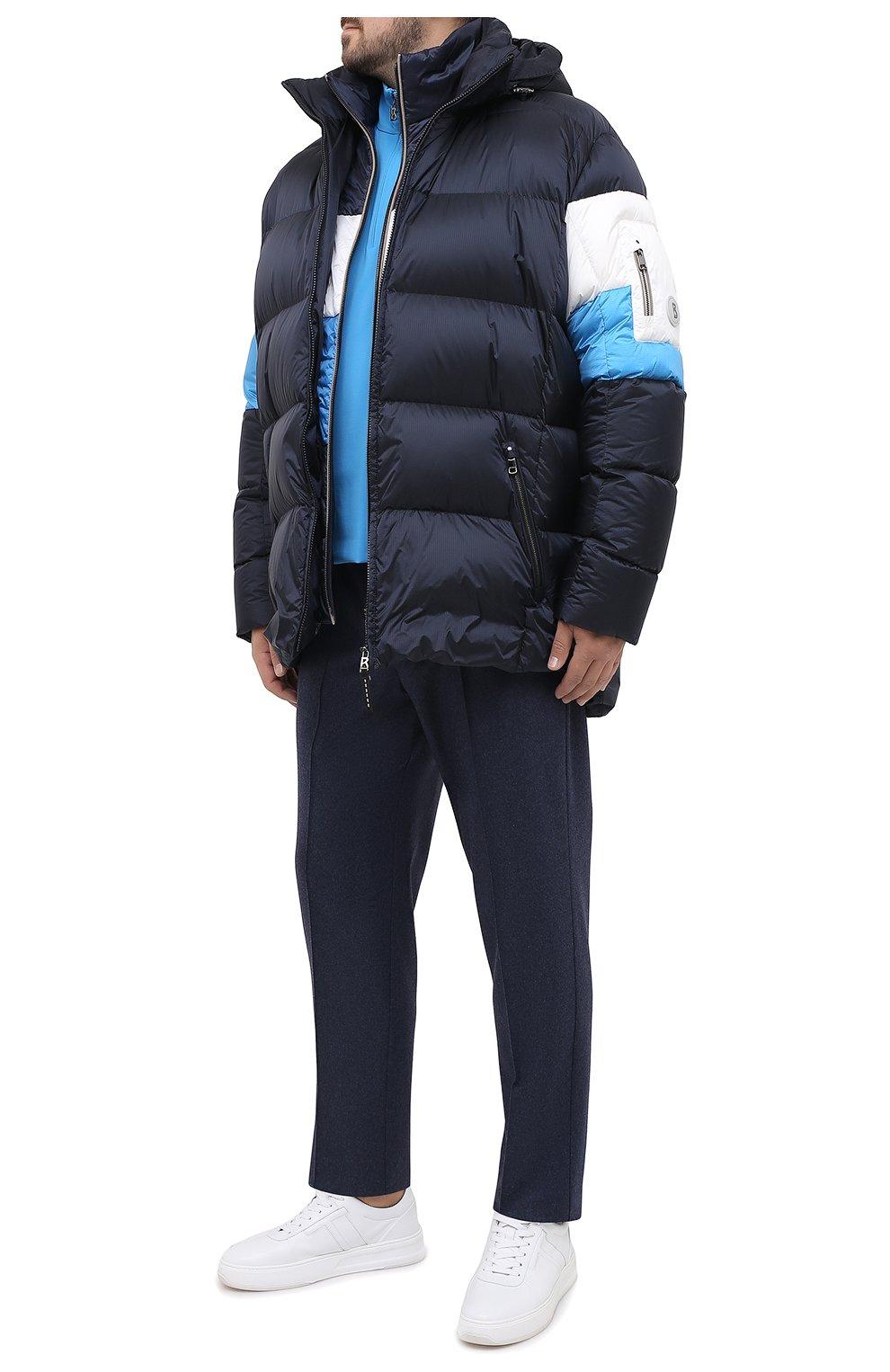 Мужская пуховая куртка BOGNER темно-синего цвета, арт. 31024253 | Фото 2