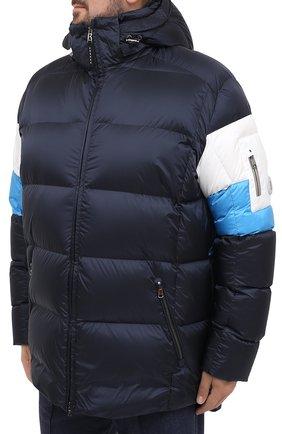 Мужская пуховая куртка BOGNER темно-синего цвета, арт. 31024253 | Фото 3