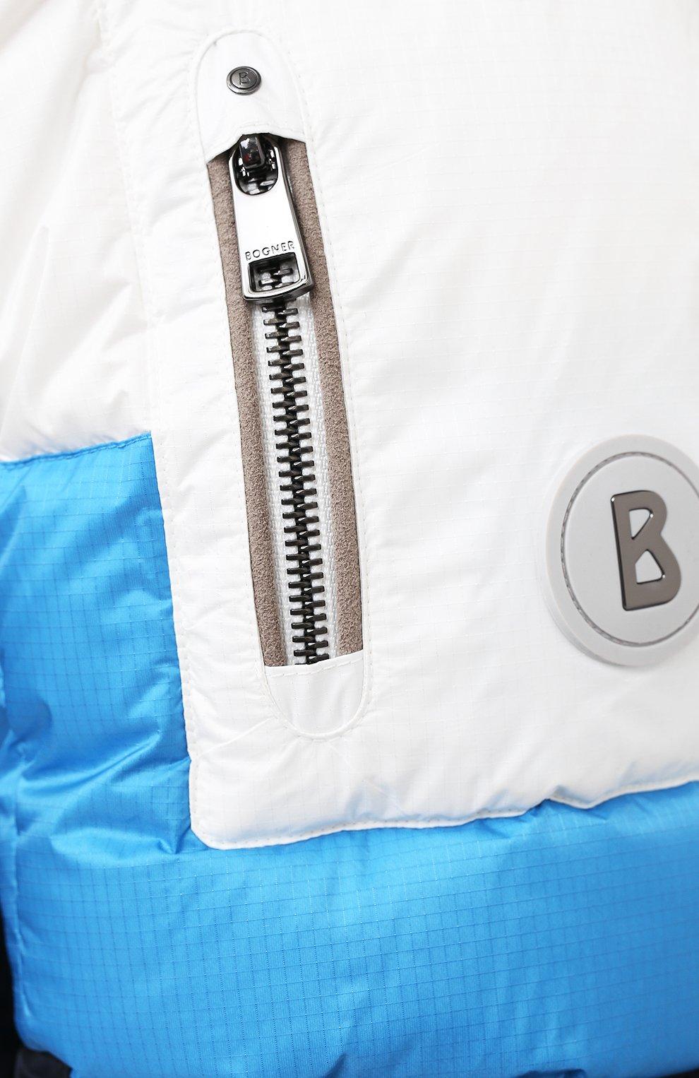 Мужская пуховая куртка BOGNER темно-синего цвета, арт. 31024253 | Фото 5