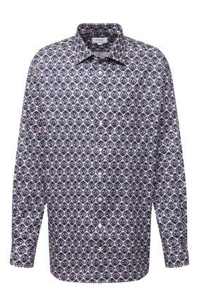 Мужская хлопковая рубашка ETON синего цвета, арт. 1000 01807   Фото 1
