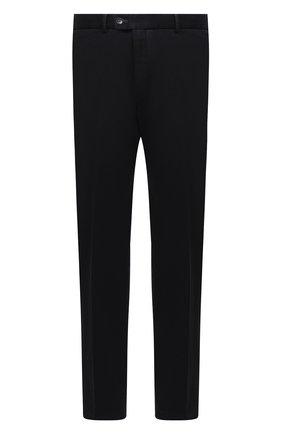 Мужской хлопковые брюки HILTL темно-синего цвета, арт. 72481/60-70 | Фото 1