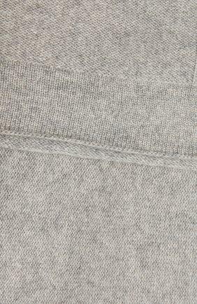 Детского кашемировый плед OSCAR ET VALENTINE серого цвета, арт. COU01 | Фото 2