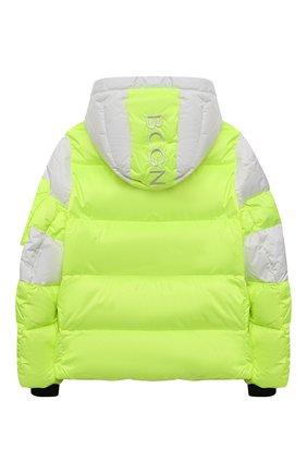 Детская пуховая куртка BOGNER KIDS салатового цвета, арт. 35604614 | Фото 2