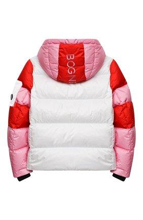 Детская пуховая куртка BOGNER KIDS белого цвета, арт. 35604614 | Фото 2