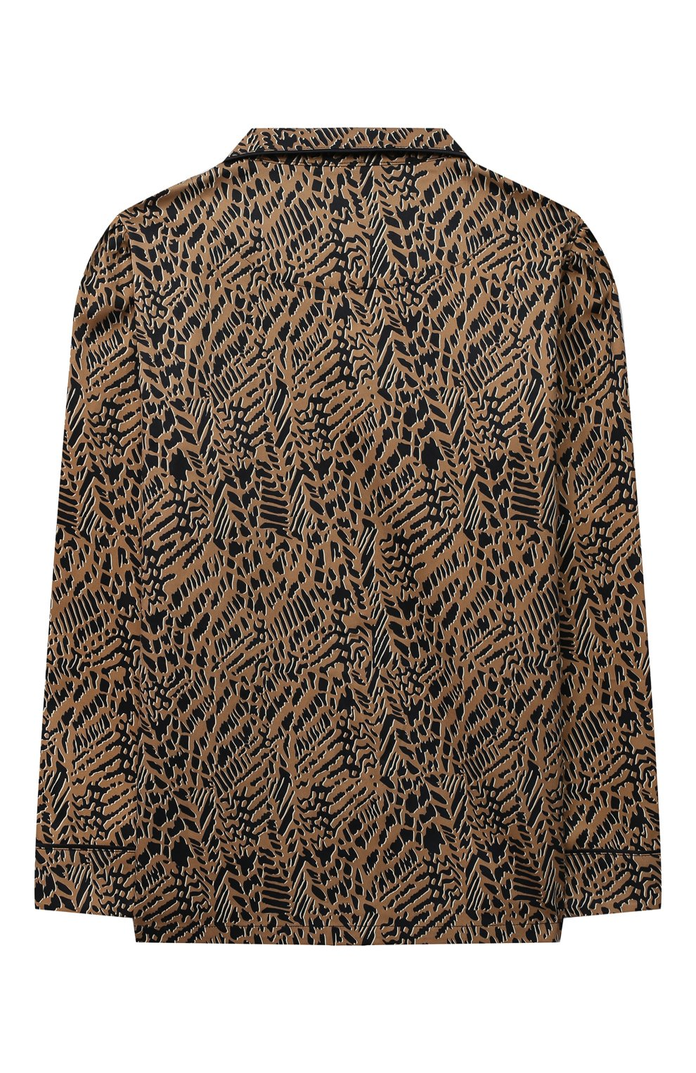 Детская хлопковая пижама LITTLE YOLKE леопардового цвета, арт. SS21-12C-AN-DI/9-12Y | Фото 3