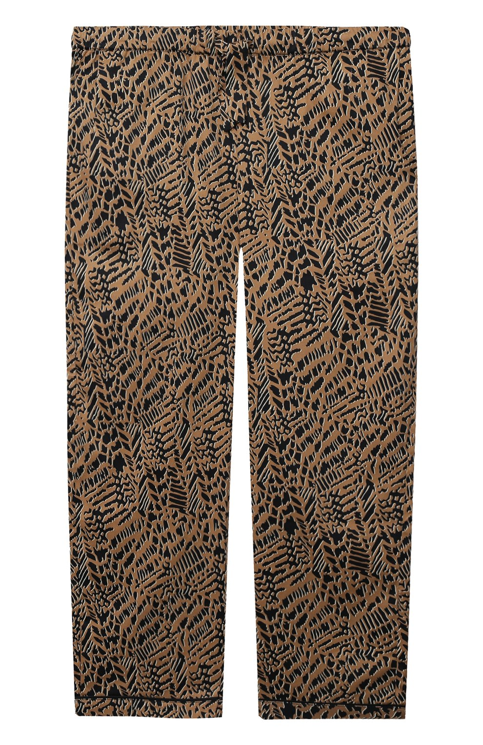 Детская хлопковая пижама LITTLE YOLKE леопардового цвета, арт. SS21-12C-AN-DI/9-12Y | Фото 4