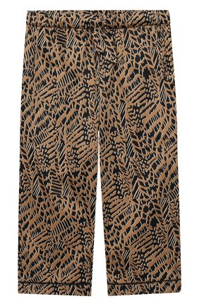 Детская хлопковая пижама LITTLE YOLKE леопардового цвета, арт. SS21-12C-AN-DI/1-8Y | Фото 4