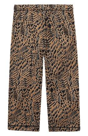 Детская хлопковая пижама LITTLE YOLKE леопардового цвета, арт. SS21-12C-AN-DI/1-8Y | Фото 5