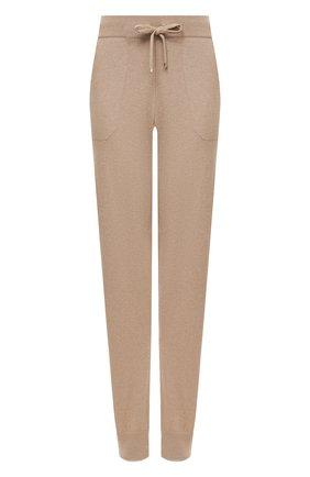 Женские кашемировые брюки RALPH LAUREN бежевого цвета, арт. 290740490   Фото 1