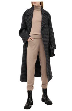 Женские кашемировые брюки RALPH LAUREN бежевого цвета, арт. 290740490   Фото 2