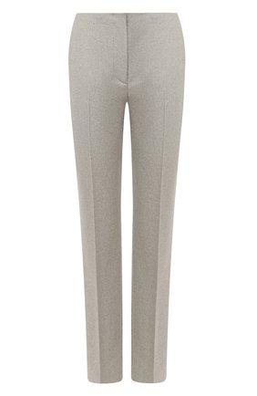 Женские шерстяные брюки RALPH LAUREN серого цвета, арт. 290815849 | Фото 1
