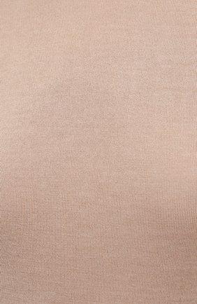 Женская кашемировая водолазка RALPH LAUREN бежевого цвета, арт. 290615195 | Фото 5