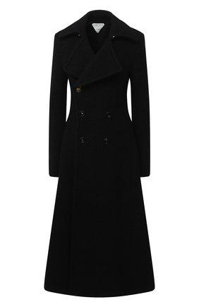 Женское пальто BOTTEGA VENETA черного цвета, арт. 640689/V03D0 | Фото 1