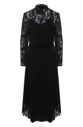 Женское платье RALPH LAUREN черного цвета, арт. 290820724   Фото 1