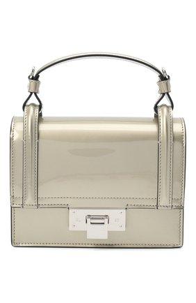 Женская сумка hinge RALPH LAUREN серебряного цвета, арт. 435818327   Фото 1