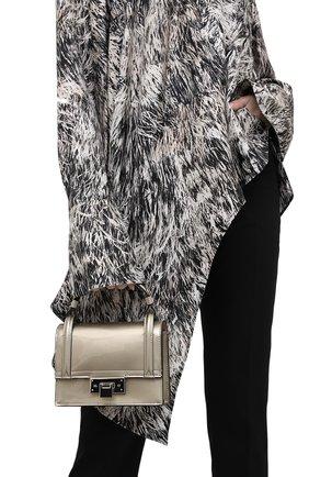Женская сумка hinge RALPH LAUREN серебряного цвета, арт. 435818327   Фото 2