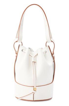 Женская сумка balloon LOEWE белого цвета, арт. A710C31X31 | Фото 1