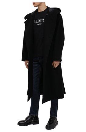 Мужские кожаные ботинки DRIES VAN NOTEN черного цвета, арт. MW28/035/QU115 | Фото 2