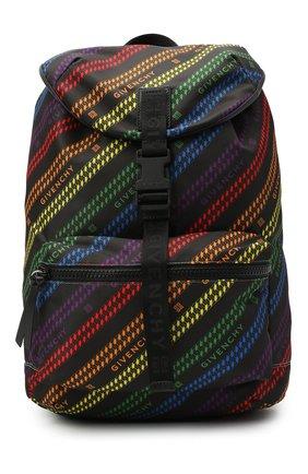 Мужской текстильный рюкзак light 3 GIVENCHY разноцветного цвета, арт. BK500MK104 | Фото 1