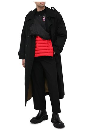 Мужской бомбер y/project x canada goose Y/PROJECT красного цвета, арт. YPCGMPULL2 Y17 | Фото 2