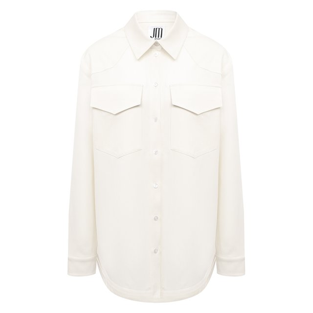 Шерстяная рубашка JM Studio