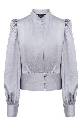Женская блузка GIORGIO ARMANI серого цвета, арт. 0WHCCZ42/TZ642 | Фото 1