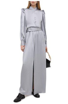 Женская блузка GIORGIO ARMANI серого цвета, арт. 0WHCCZ42/TZ642 | Фото 2