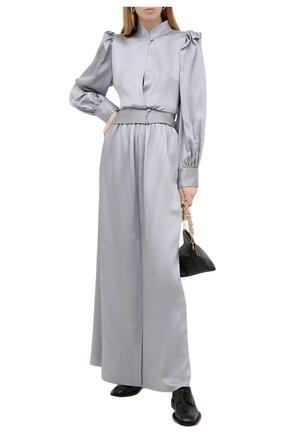 Женская юбка GIORGIO ARMANI серого цвета, арт. 0WHNN04E/T024S   Фото 2