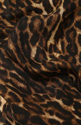Мужские кашемировый шарф RALPH LAUREN коричневого цвета, арт. 434819472 | Фото 2