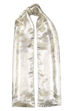 Женский шарф RALPH LAUREN серебряного цвета, арт. 434819469 | Фото 1