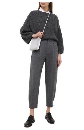 Женский свитер BRUNELLO CUCINELLI темно-серого цвета, арт. M8M559000 | Фото 2