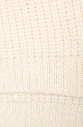 Мужские шарф из кашемира и шелка BRUNELLO CUCINELLI белого цвета, арт. M32373989 | Фото 2