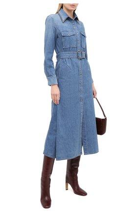 Женское джинсовое платье CHLOÉ синего цвета, арт. CHC20WDR19158 | Фото 2