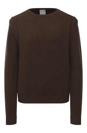 Женский кашемировый свитер FTC коричневого цвета, арт. 810-0100   Фото 1