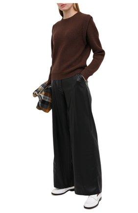 Женский кашемировый свитер FTC коричневого цвета, арт. 810-0100   Фото 2