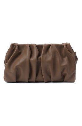 Женская сумка vague small ELLEME темно-коричневого цвета, арт. VAGUE/LEATHER | Фото 1