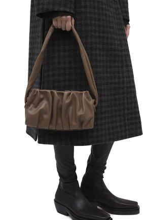 Женская сумка vague small ELLEME темно-коричневого цвета, арт. VAGUE/LEATHER | Фото 2