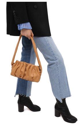 Женская сумка vague small ELLEME коричневого цвета, арт. VAGUE/LEATHER | Фото 2
