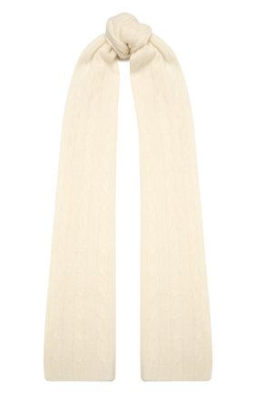 Мужские кашемировый шарф RALPH LAUREN кремвого цвета, арт. 290840299 | Фото 1