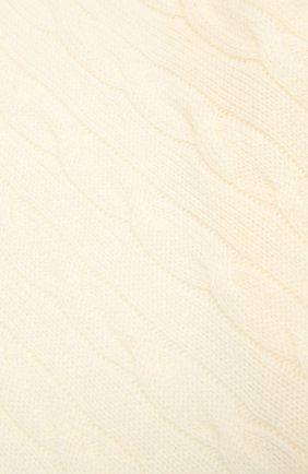 Мужские кашемировый шарф RALPH LAUREN кремвого цвета, арт. 290840299 | Фото 2