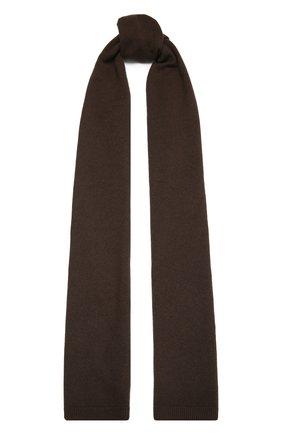 Мужские кашемировый шарф RALPH LAUREN коричневого цвета, арт. 290840295 | Фото 1