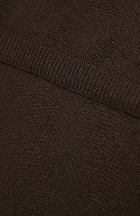 Мужские кашемировый шарф RALPH LAUREN коричневого цвета, арт. 290840295 | Фото 2